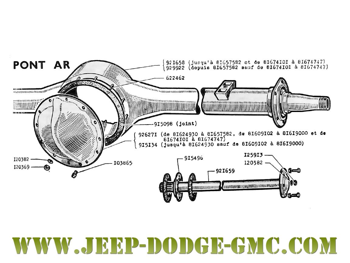 Jeep Dodge Gmc Vente De Pi 232 Ces Et V 233 Hicules