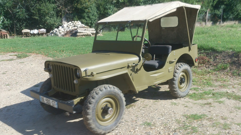 Pas cher jeep willys occasion belgique