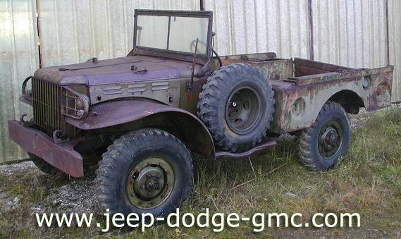 Dodge militaire a vendre occasion
